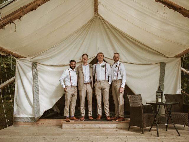 Desta and Dermot's wedding in Grafton, Ontario 14