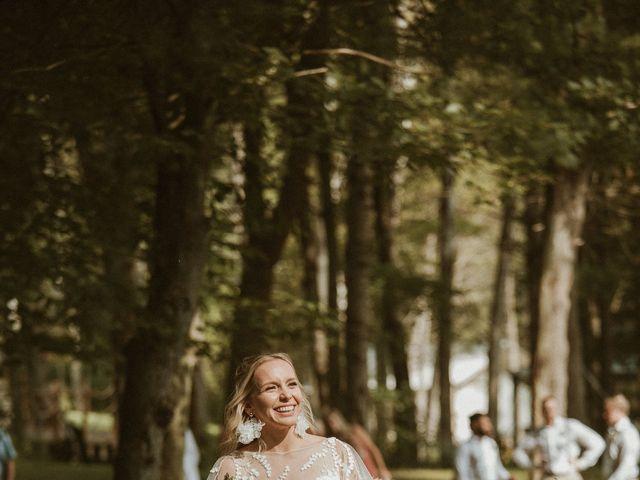 Desta and Dermot's wedding in Grafton, Ontario 15