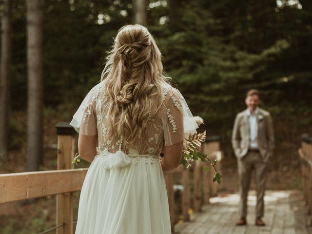 Desta and Dermot's wedding in Grafton, Ontario 18