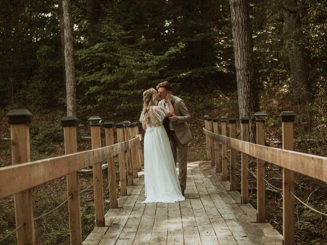 Desta and Dermot's wedding in Grafton, Ontario 19
