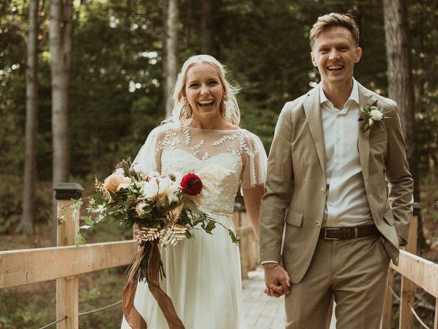 Desta and Dermot's wedding in Grafton, Ontario 24
