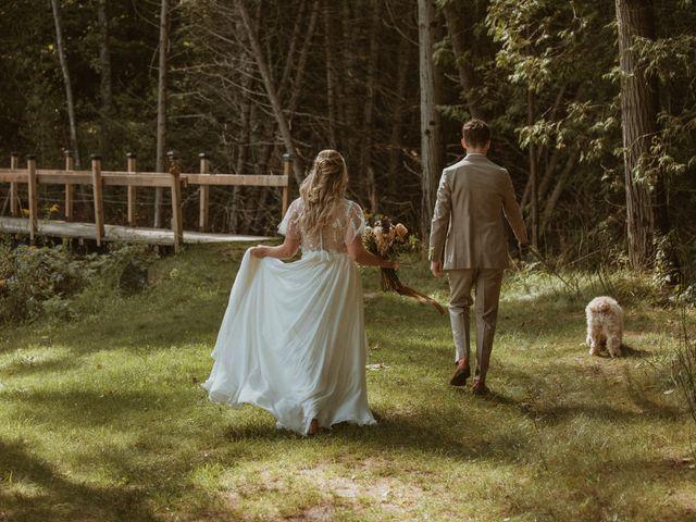 Desta and Dermot's wedding in Grafton, Ontario 27