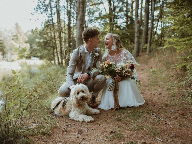 Desta and Dermot's wedding in Grafton, Ontario 28