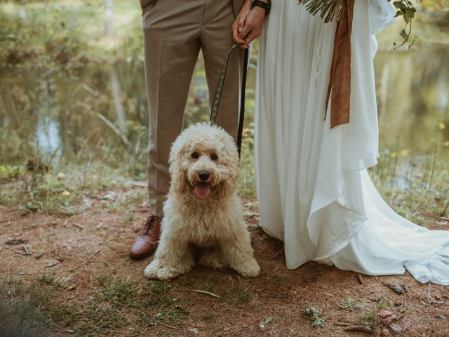 Desta and Dermot's wedding in Grafton, Ontario 29