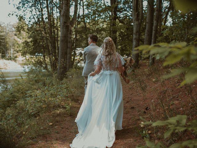 Desta and Dermot's wedding in Grafton, Ontario 30