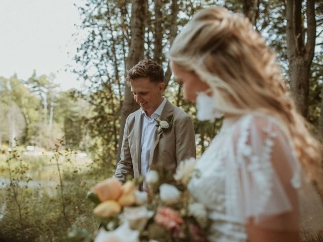 Desta and Dermot's wedding in Grafton, Ontario 32