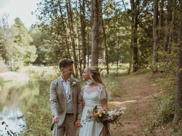 Desta and Dermot's wedding in Grafton, Ontario 34