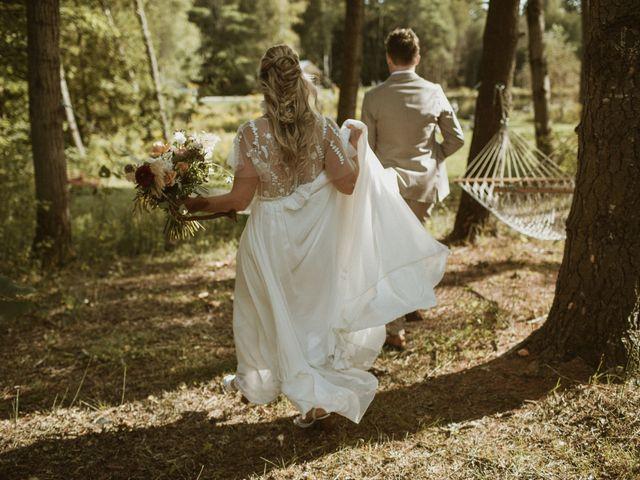 Desta and Dermot's wedding in Grafton, Ontario 40