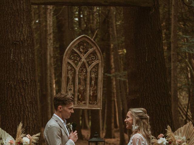 Desta and Dermot's wedding in Grafton, Ontario 61