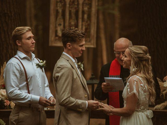 Desta and Dermot's wedding in Grafton, Ontario 62