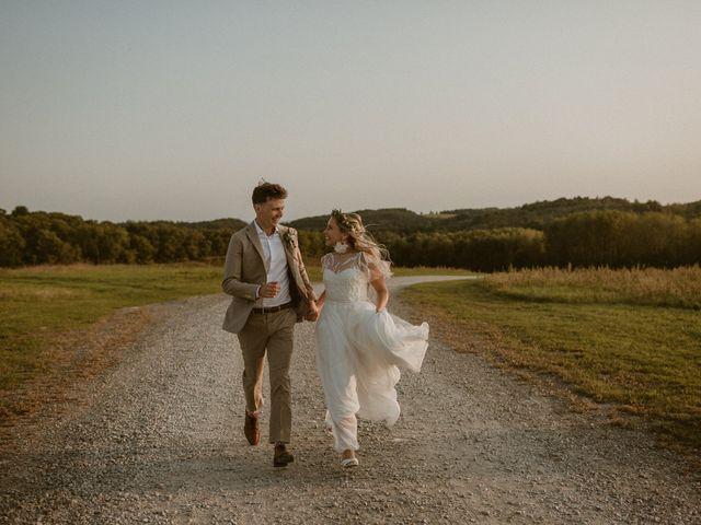 Desta and Dermot's wedding in Grafton, Ontario 1