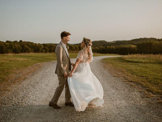 Desta and Dermot's wedding in Grafton, Ontario 80