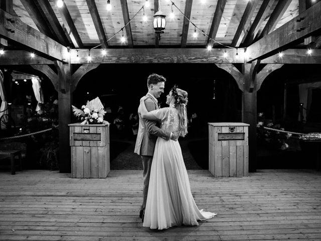 Desta and Dermot's wedding in Grafton, Ontario 2