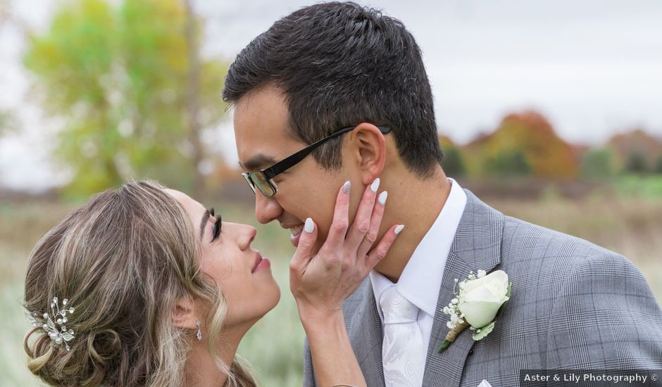 Elliot and Bethany's wedding in London, Ontario