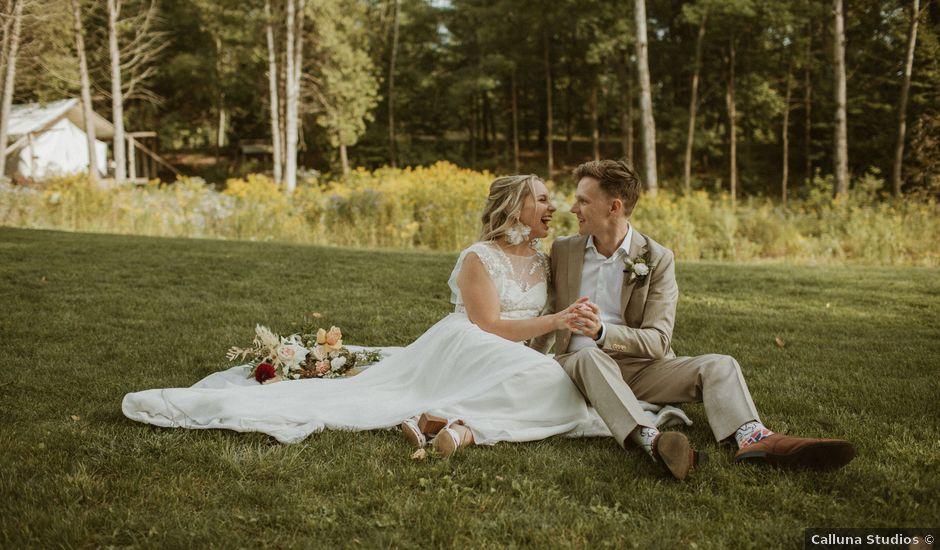 Desta and Dermot's wedding in Grafton, Ontario
