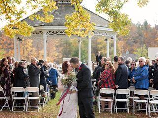 The wedding of Erika and Mark
