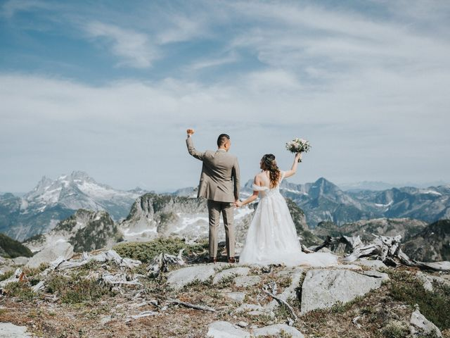 The wedding of Kristel and Matthew