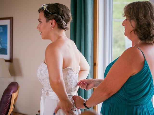 Tim and Jennifer's wedding in Fundy National Park, New Brunswick 10