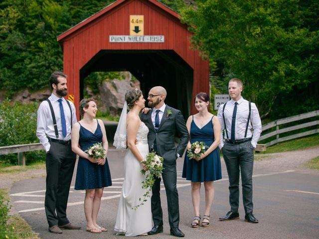 Tim and Jennifer's wedding in Fundy National Park, New Brunswick 1