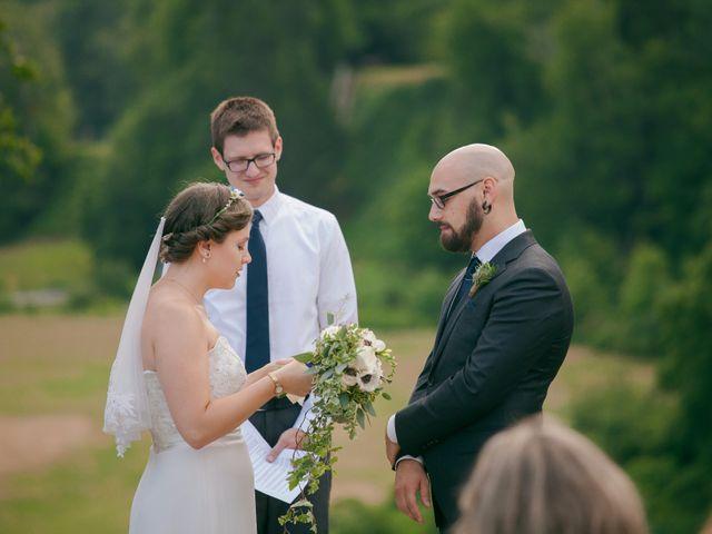 Tim and Jennifer's wedding in Fundy National Park, New Brunswick 2