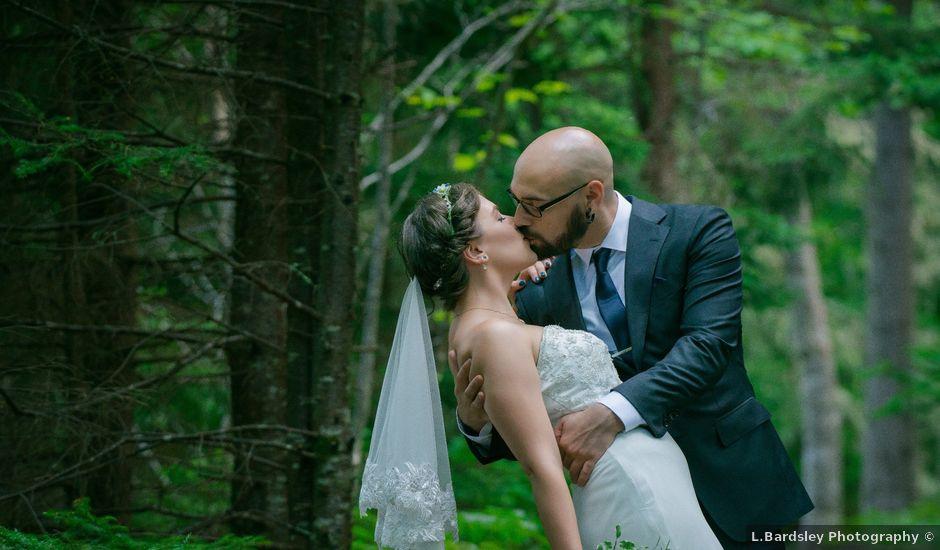 Tim and Jennifer's wedding in Fundy National Park, New Brunswick
