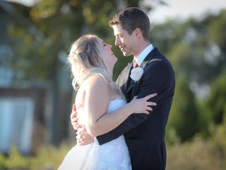 The wedding of Erika and Graham