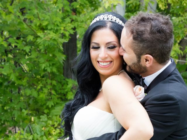 The wedding of Vanessa and Mike