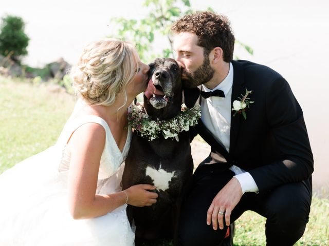 Louis and Jessica's wedding in Wolfville, Nova Scotia 4