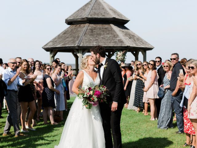 Louis and Jessica's wedding in Wolfville, Nova Scotia 11