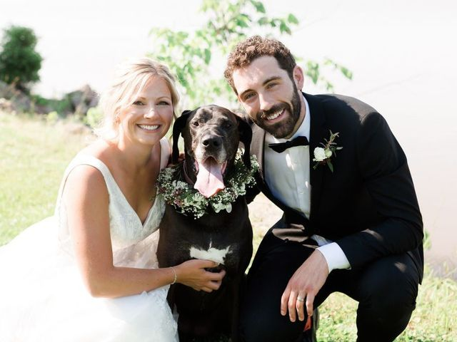Louis and Jessica's wedding in Wolfville, Nova Scotia 1