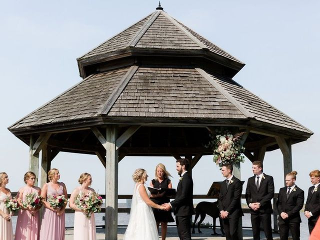Louis and Jessica's wedding in Wolfville, Nova Scotia 2