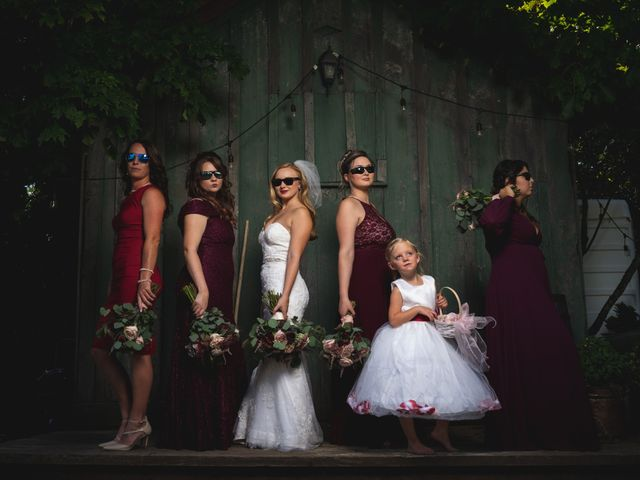Kellie and Andy's wedding in Delhi, Ontario 13