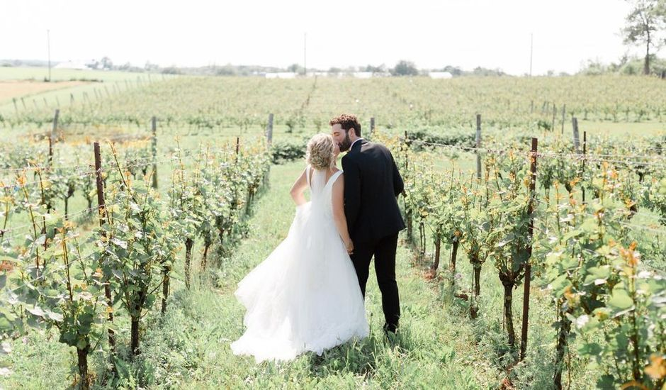 Louis and Jessica's wedding in Wolfville, Nova Scotia