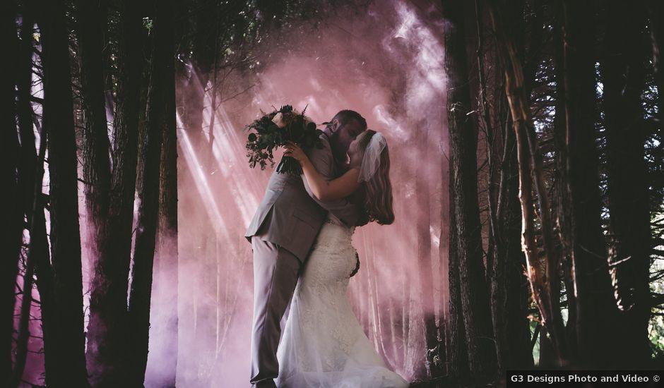 Kellie and Andy's wedding in Delhi, Ontario