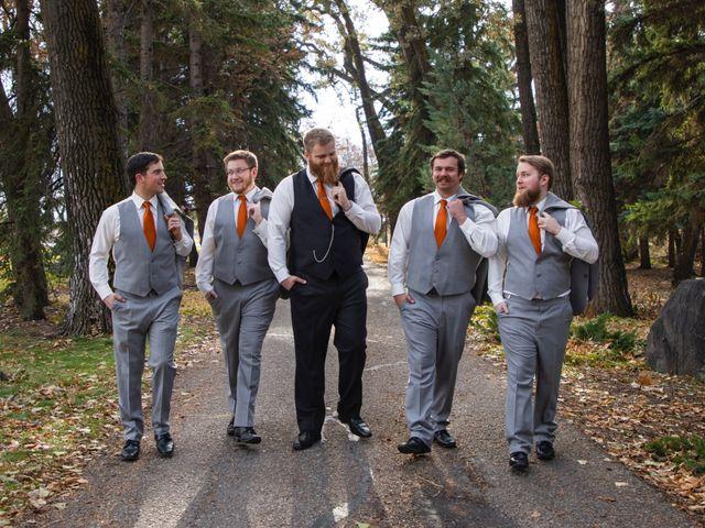 Geoff and Ashley's wedding in Lethbridge, Alberta 11