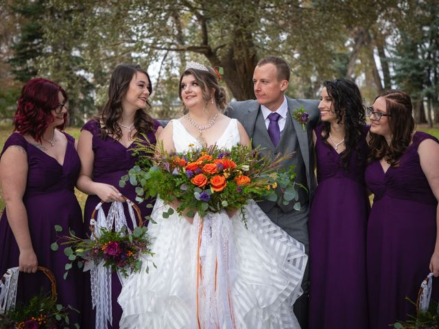 Geoff and Ashley's wedding in Lethbridge, Alberta 12