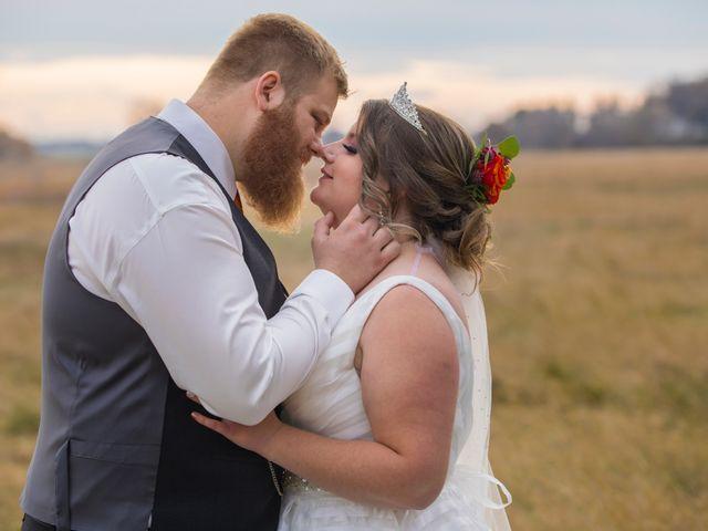 Geoff and Ashley's wedding in Lethbridge, Alberta 14