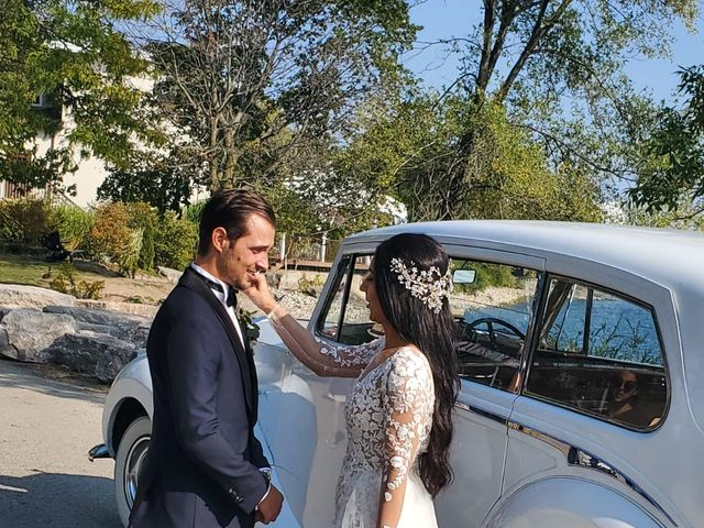 Michael and Alessia's wedding in Toronto, Ontario 6