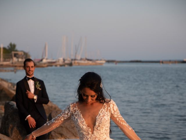 Michael and Alessia's wedding in Toronto, Ontario 1