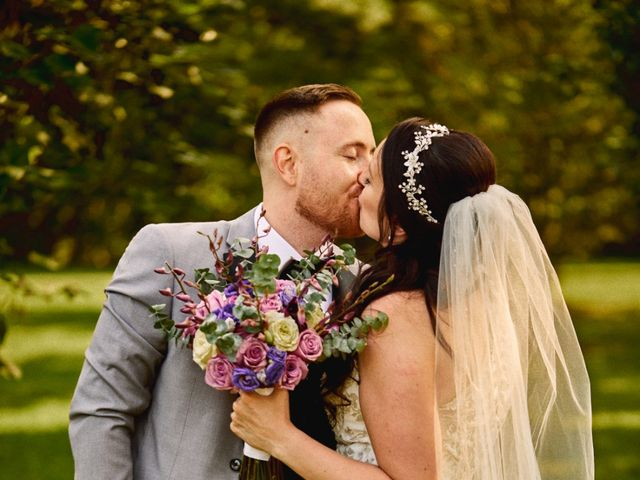 The wedding of Danielle and Greg