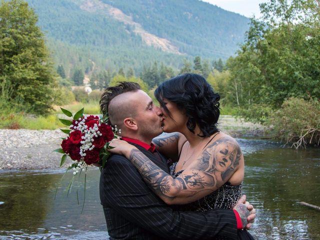 Joe and Krystal 's wedding in Salmon Arm, British Columbia 1