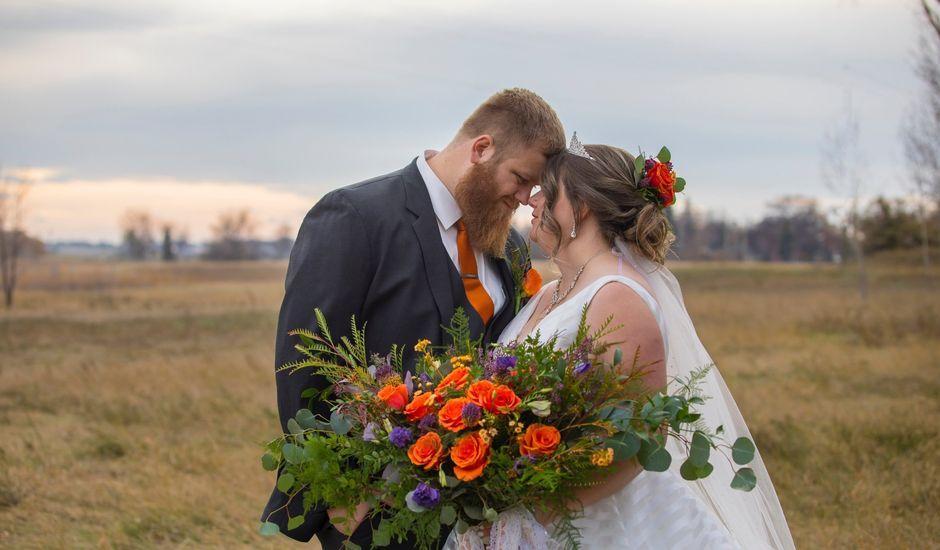Geoff and Ashley's wedding in Lethbridge, Alberta