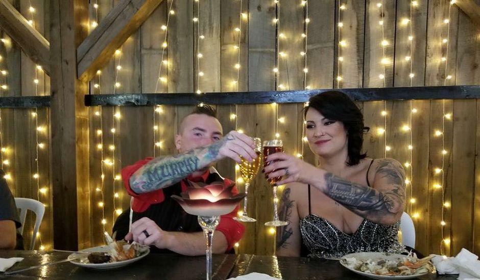 Joe and Krystal 's wedding in Salmon Arm, British Columbia
