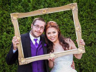 The wedding of Wendy and Luke