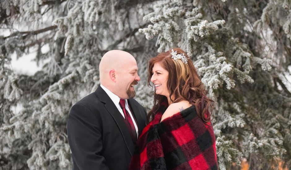Darren and Stephanie's wedding in Edmonton, Alberta