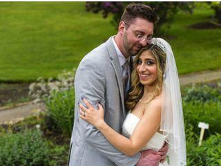 The wedding of Golzar  and Jonathan