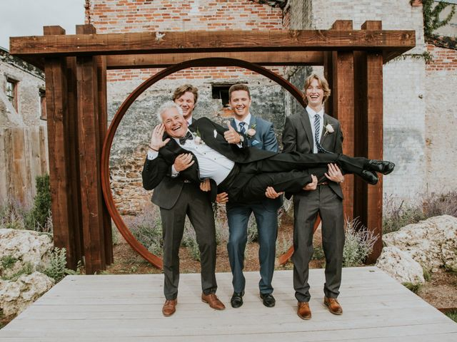 Stefan and Nicole's wedding in Elora, Ontario 6