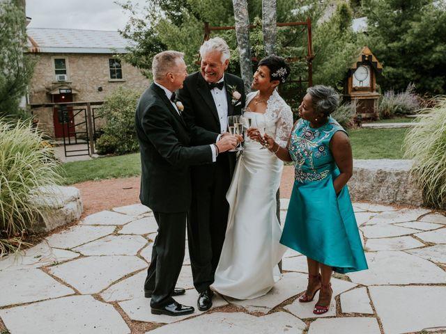 Stefan and Nicole's wedding in Elora, Ontario 7