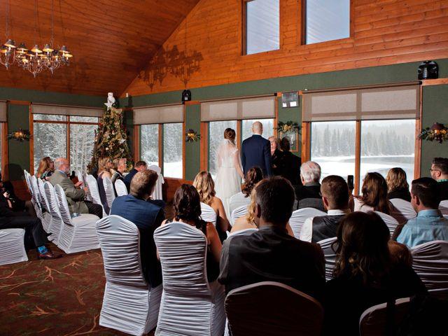 Mike and Chantal's wedding in Jasper, Alberta 3