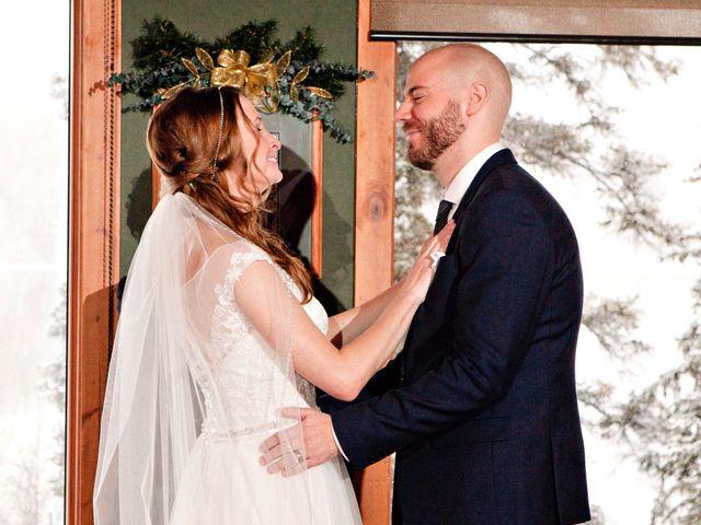 Mike and Chantal's wedding in Jasper, Alberta 4